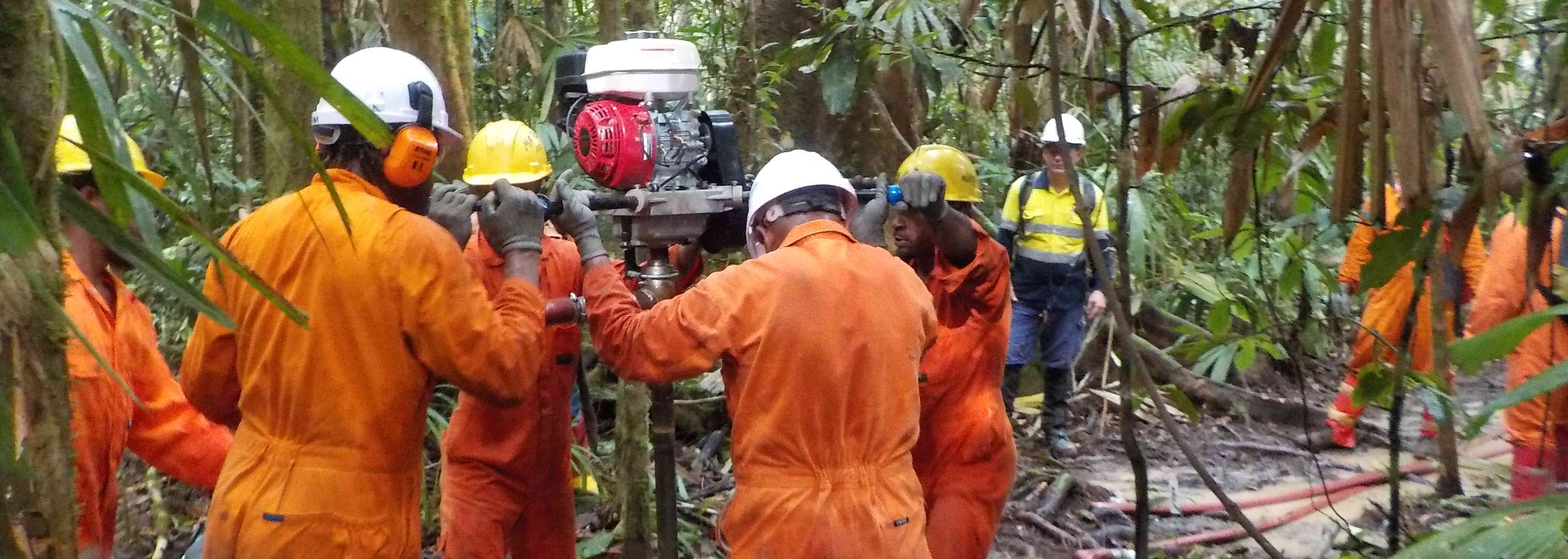Foreman Drilling Gulf Province of PNG